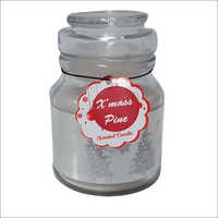 Medium Jar Candle X-mas Pine