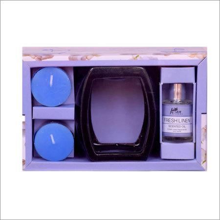 Burner Fragrance Oil T-Light Candle Gift Set