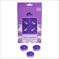 Fresh Lavender Tealight Candles