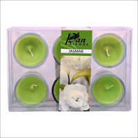 6 Pack Votive Candle Jasmine