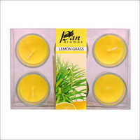 6 Pack Votive Candle Lemon Grass