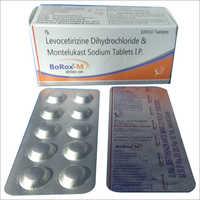 levocetirizine dihydrochloride & montelukast sodium tablet