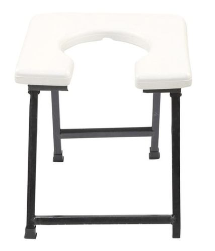 White COMMODE STOOL