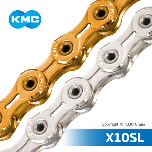 KMC CHAIN X10SL 10 Speed Bicycle Chain