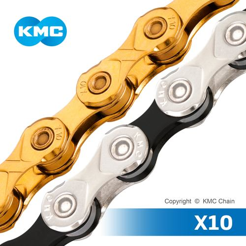 KMC CHAIN X10 10 Speed Bicycle Chain