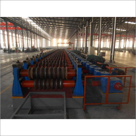 Grain Silo Corrugated Sheet Roll Forming Machine