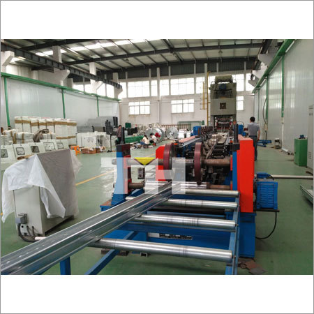 Galvanized Perforated Cable Trays Cold Roll Forming Machine