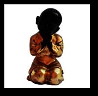Baby Monk Buddha Relaxing