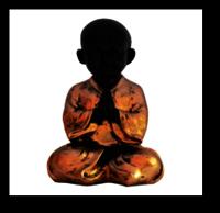 Baby Monk Namaste