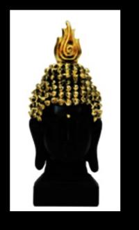 Black Buddha Head