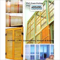 U Pvc Louvers Doors, Windows And Profiles