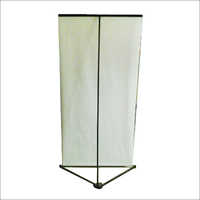 Roll Up Triangle Banner Stand