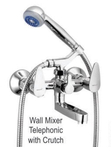 Wall Mixer Telephonic with Crutch