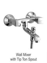 Wall Mixer Bath With Tip Ton Spout