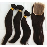 Natural Straight Top Closure