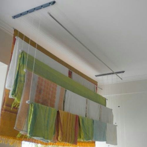stainless steel ceiling cloth hanger