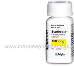 SUNTHYROID 100 TAB