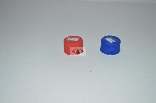 Red Blue Plastic Caps for Inlet Outlet Pipe