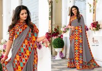 Best printed fancy sarees online