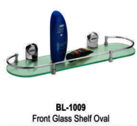 Front Glass Shelf Oval