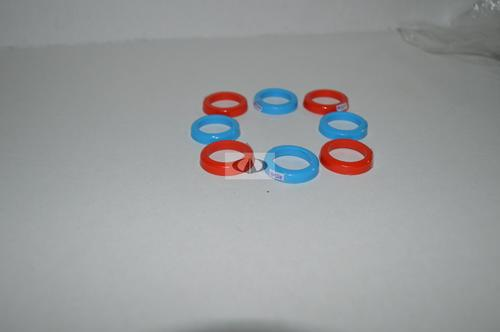 Red Blue Plastic Spacers for Inlet Outlet Pipe