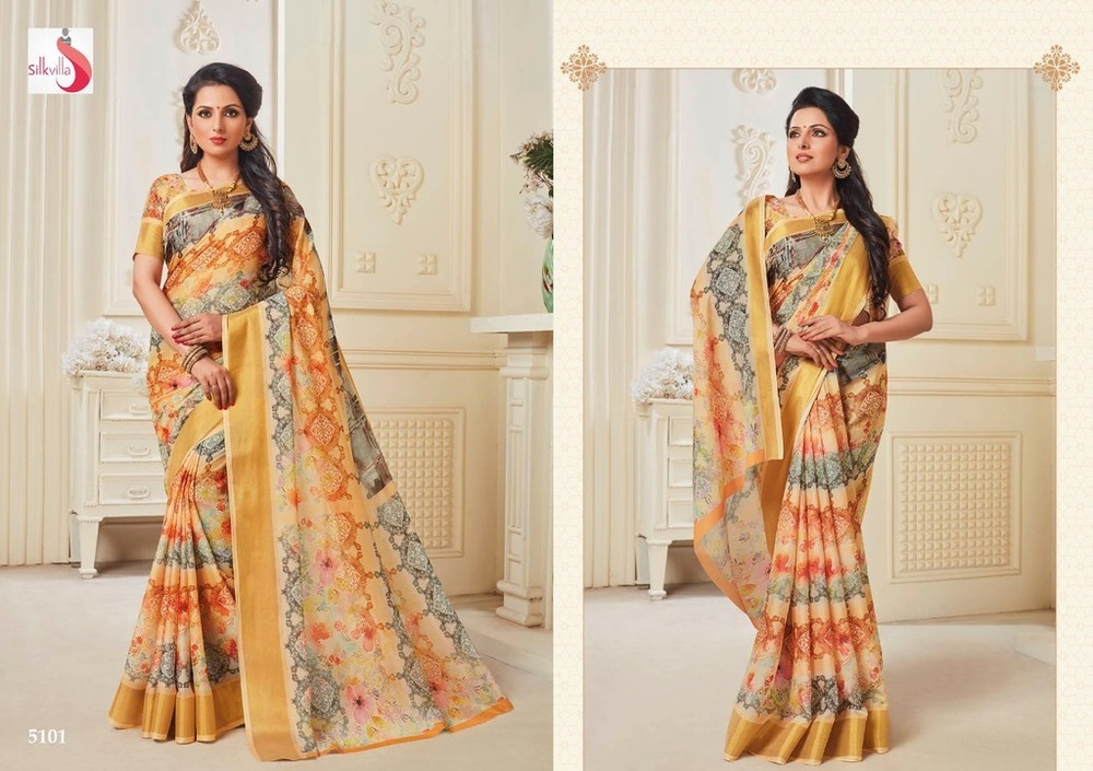 Beautiful designer silk sarees online shopping