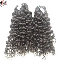 curly human hair weave