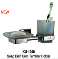 Soap Dish Cum Tumbler Holder