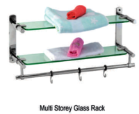 Multi Storey Glass Rack