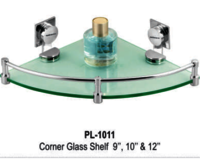 Corner Glass Shelf