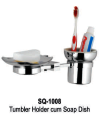 Tumbler Holder Cum Soap Dish