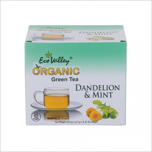 Mint Green Tea Relaxing