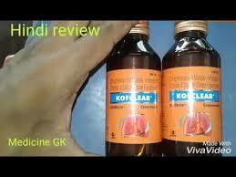 Kofclear + Cough Syrup