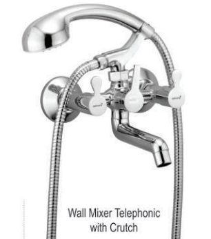 Wall Mixer Non Telephonic with Crutch