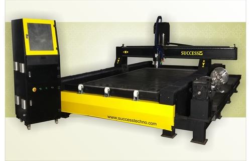 Rotary CNC Stone Engraving Machine