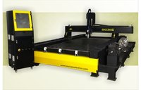 Rotary CNC Stone Engraving Machine