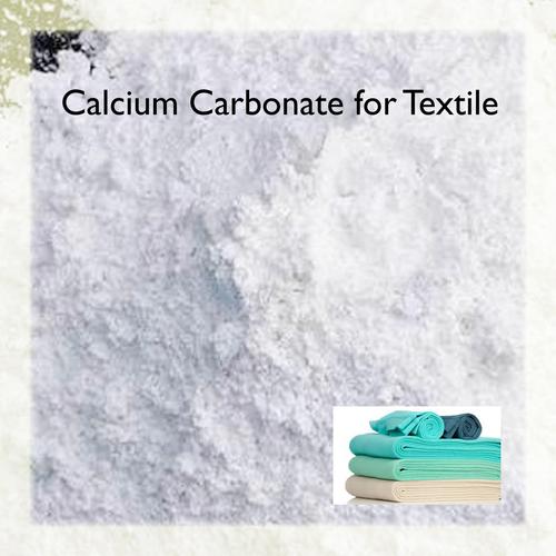 Calcium Carbonate For Textile
