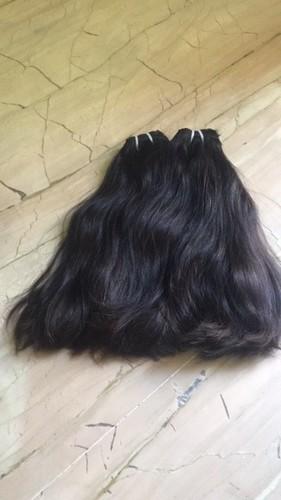 Double Drawn Straight Hair