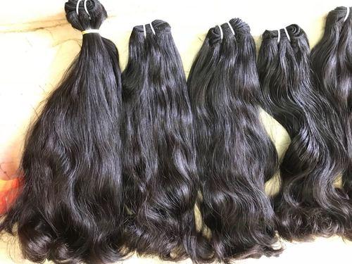 Double Drawn Wavy Hair