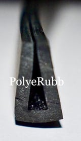 Nitrile Rubber U Section