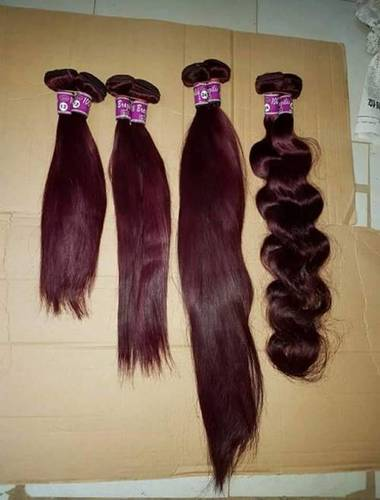 Burgundy Colour Hair