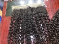 Curly Frontal Human Hair
