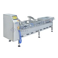 High speed sandwiching machine with packaging machine