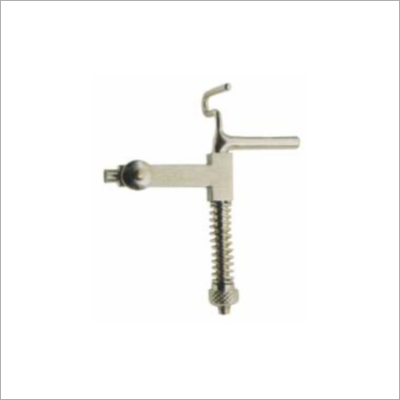 Suture Clamp With Tensiometer