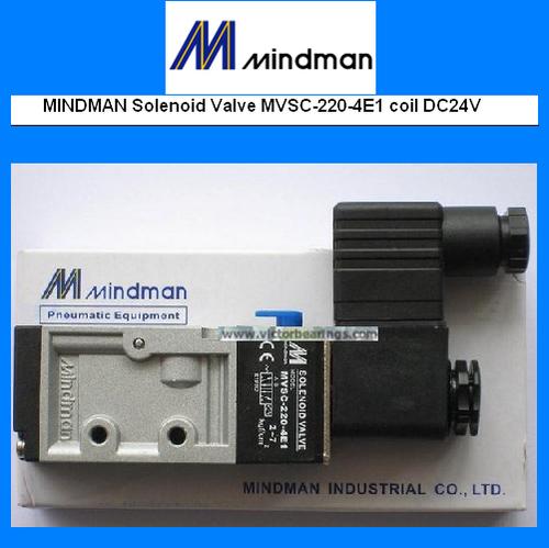 MINDMAN SOLENOID VALVE MVSC 220 4E1 DC 24 V