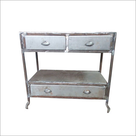 Industrial Three Drawer Dresser