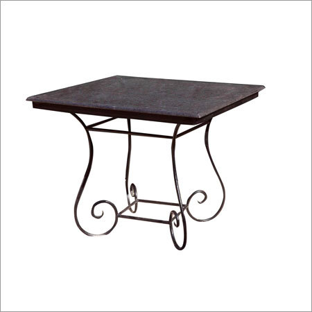 Raw Iron Industrial Table