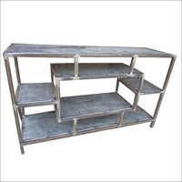 Wrought Iron Multi Shelves Unit