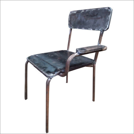 Wrought Iron Chair With Handles