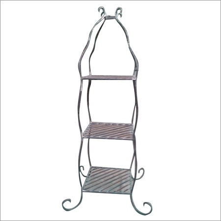 Wrought Iron Book Shelves